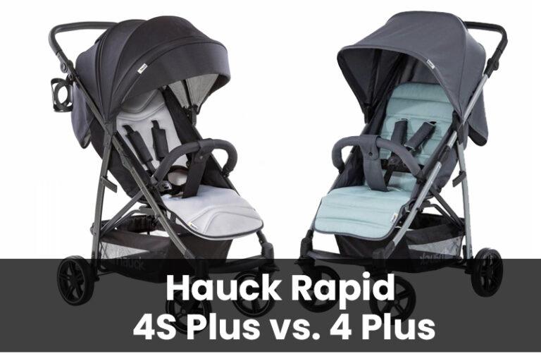 Hauck Rapid 4 und 4S Plus Vergleich