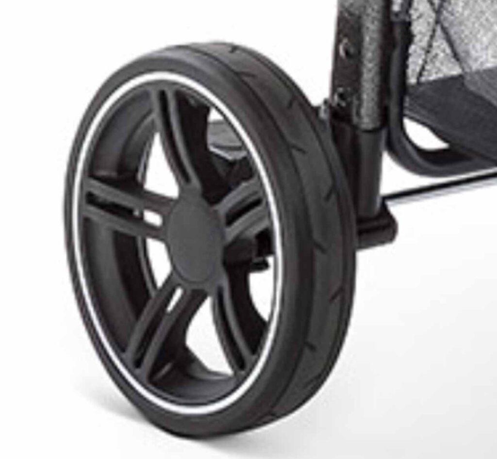 Hauck Rapid 4s Plus Reifen mit Profil und weißen Streifen