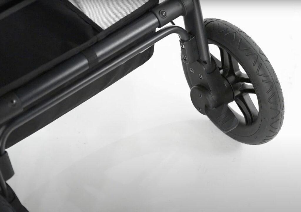 Bremse des Hauck Saturn R am Hinterrad
